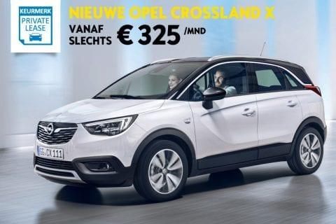 Opel Crossland X bij Van Mossel Voorraad