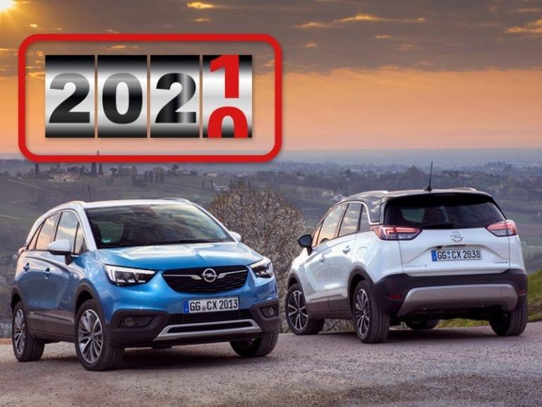 Opel Crossland X 1.2T Edition 2020