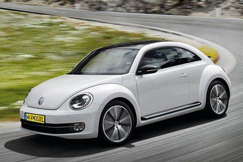 Volkswagen Beetle bij Van Mossel Voorraad