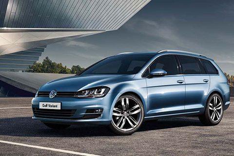 Volkswagen Golf Variant bij Van Mossel Voorraad