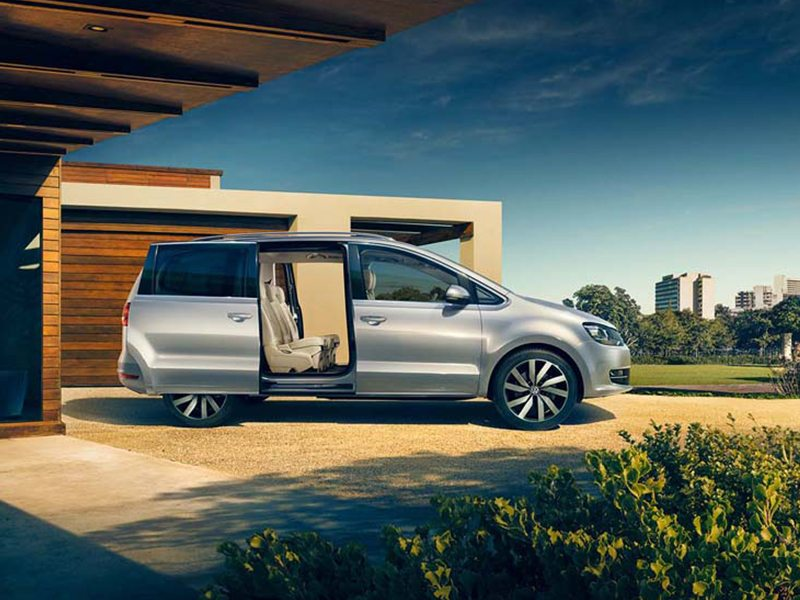 Volkswagen Sharan Exclusive Series bij Van Mossel Voorraad