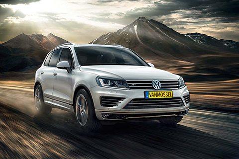 Volkswagen Touareg bij Van Mossel Voorraad