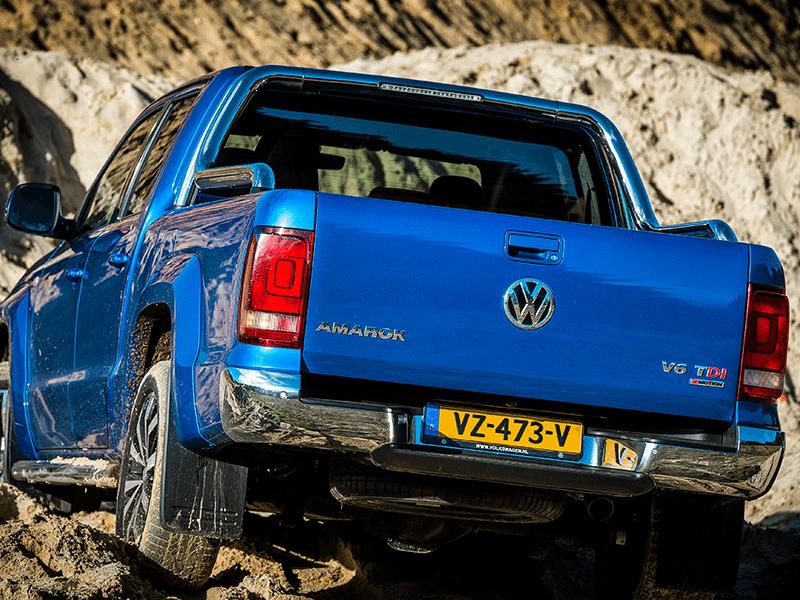 Volkswagen Amarok Trendline bij Van Mossel Voorraad