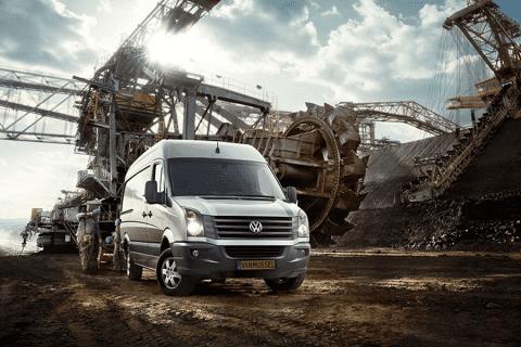 Volkswagen Crafter bij Van Mossel Voorraad