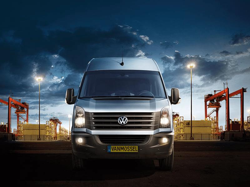 Volkswagen Crafter 2.0 TDI 80kW/109pk 6 versn. Hand bij Van Mossel Voorraad