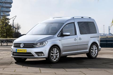 Volkswagen Caddy bij Van Mossel Voorraad