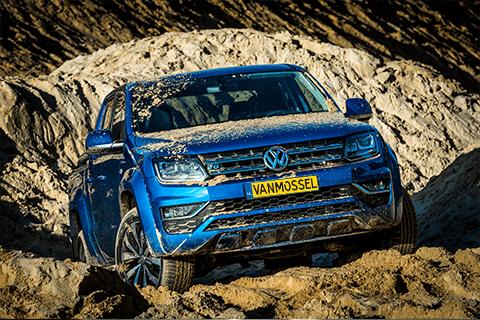 Volkswagen Amarok bij Van Mossel Voorraad
