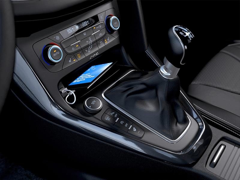 Ford Focus Titanium Wagon 1.0 Ecoboost 125pk bij Van Mossel Voorraad