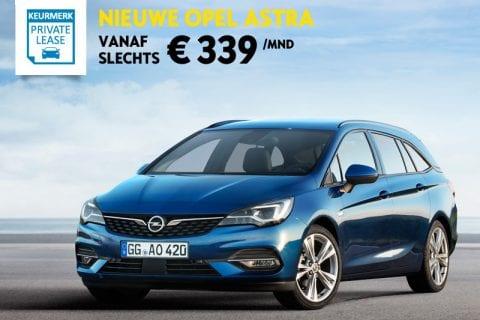 Opel Astra Sports Tourer bij Van Mossel Voorraad