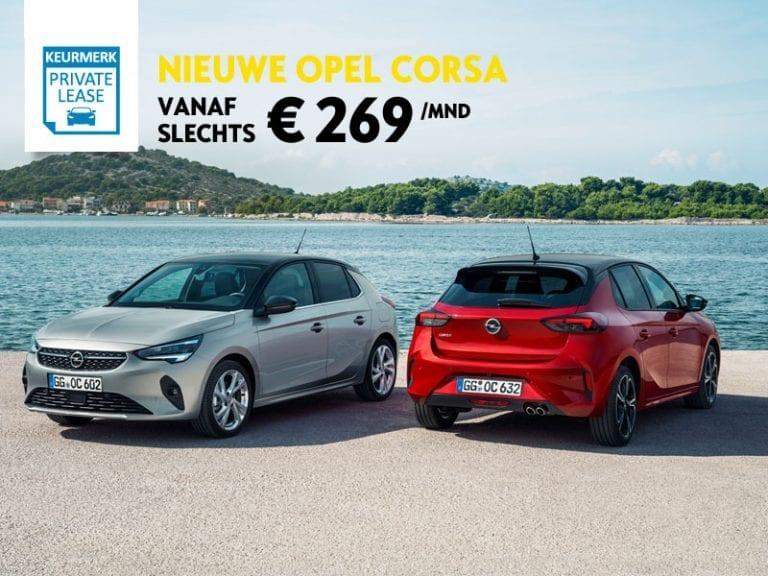 Opel Corsa 1.2 100pk Edition (nieuw model)