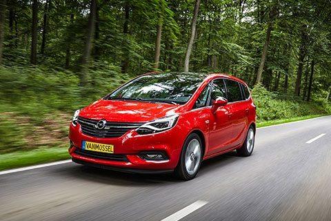 Opel Zafira bij Van Mossel Voorraad