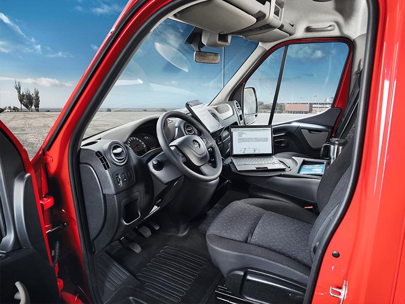 Opel Movano Platform Cabine 2.3D CityBox bij Van Mossel Voorraad