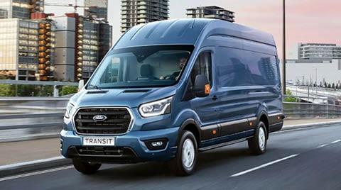 Ford Transit bij Van Mossel Voorraad