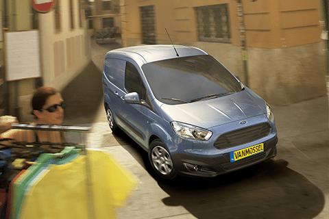 Ford Transit Courier bij Van Mossel Voorraad