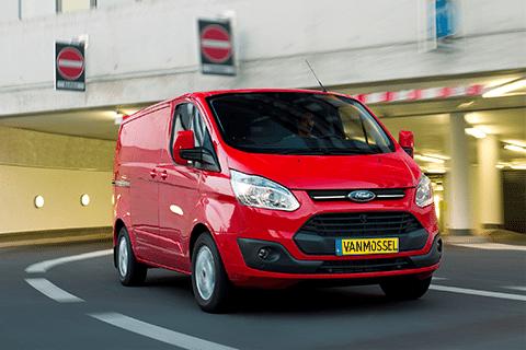Ford Transit Custom bij Van Mossel Voorraad