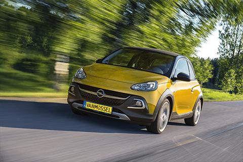 Opel Adam bij Van Mossel Voorraad