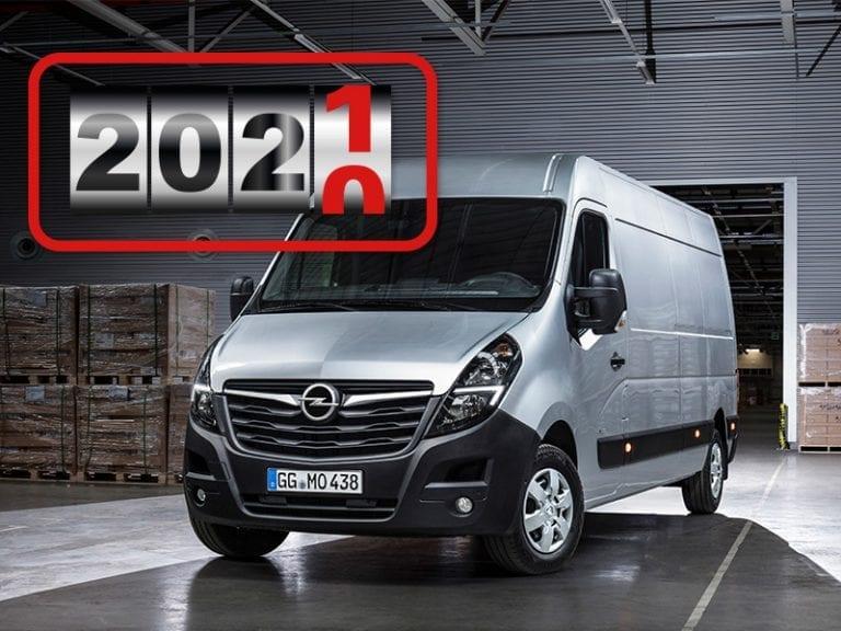 Opel Movano Platform Cabine 2.3D CityBox