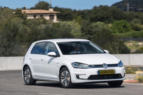 Volkswagen e-Golf bij Van Mossel Voorraad