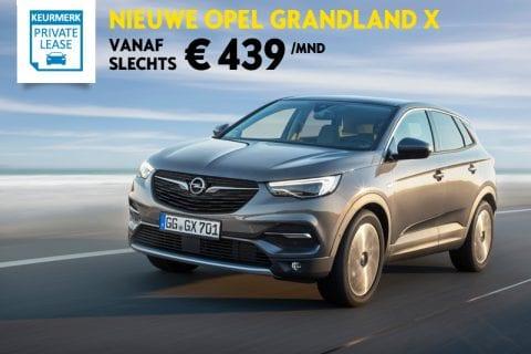Opel Grandland X bij Van Mossel Voorraad