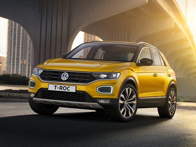 Volkswagen T-Roc 1.0 TSI trendline bij Van Mossel Voorraad
