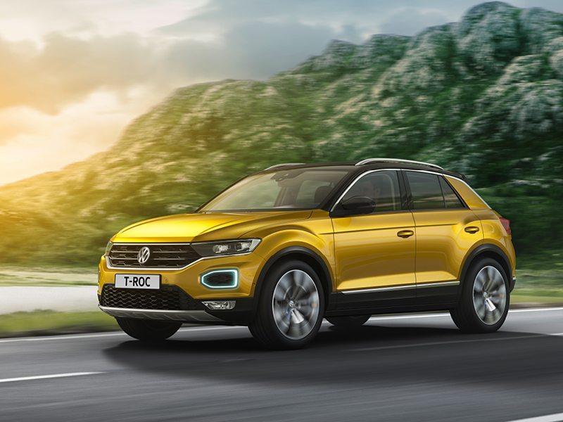 Volkswagen T-Roc  bij Van Mossel Voorraad