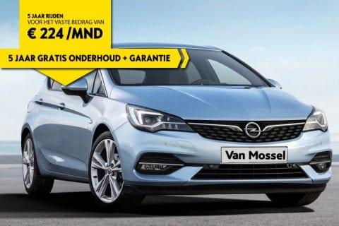 Opel Astra bij Van Mossel Voorraad