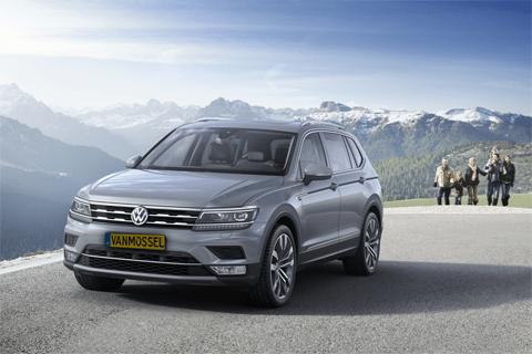 Volkswagen Tiguan Allspace bij Van Mossel Voorraad