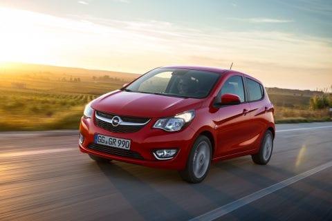 Opel Karl bij Van Mossel Voorraad