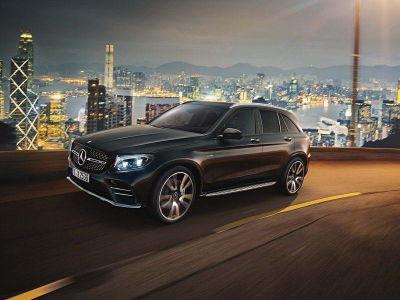 Mercedes-Benz GLC Allrounder GLC 250 4MATIC Premium AMG Nightpakket bij Van Mossel Voorraad