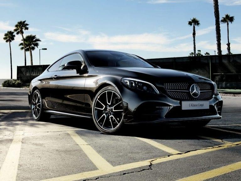 Mercedes-Benz C-Klasse Coupe 200 184pk / AMG / Panoramadak / Nightpakket