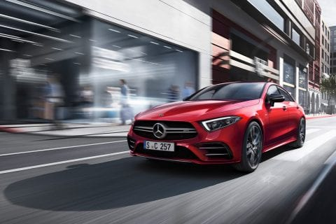 Mercedes-Benz CLS bij Van Mossel Voorraad
