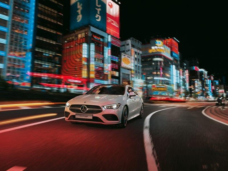 Mercedes-Benz CLA Coupé Coupé 180 Avantage AMG-Line (getoonde beeld kan afwijken van werkelijkheid) bij Van Mossel Voorraad