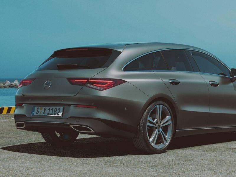 Mercedes-Benz CLA Shooting Brake CLA Shooting Brake 180 / Advantage / Style bij Van Mossel Voorraad