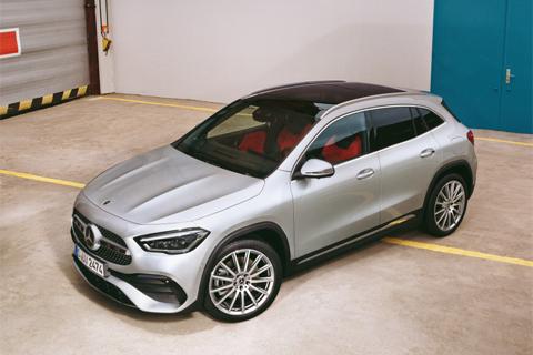 Mercedes-Benz GLA bij Van Mossel Voorraad