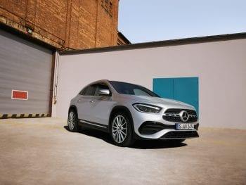 Mercedes-Benz GLA 200 7G-DCT  (getoonde beeld kan afwijken van werkelijkheid) bij Van Mossel Voorraad