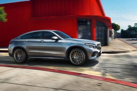 Mercedes-Benz GLC Coupé bij Van Mossel Voorraad