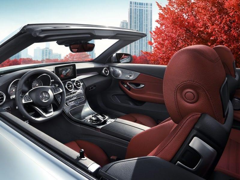 Mercedes-Benz C-Klasse Cabriolet C180 156pk 9G-TRONIC bij Van Mossel Voorraad