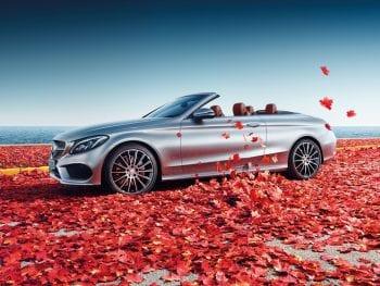 Mercedes-Benz C-Klasse C 180 Cabriolet / Premium Plus / AMG-Line  (getoonde beeld kan afwijken van werkelijkheid) bij Van Mossel Voorraad