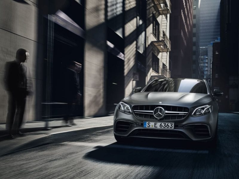 Mercedes-Benz E-Klasse E-Klasse Limousine E200 Business Solution AMG pakket bij Van Mossel Voorraad