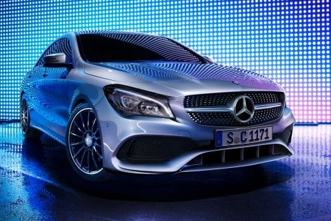 Mercedes-Benz CLA Coupé bij Van Mossel Voorraad