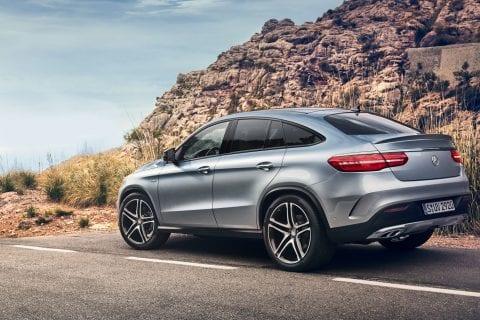 Mercedes-Benz GLE Coupé bij Van Mossel Voorraad