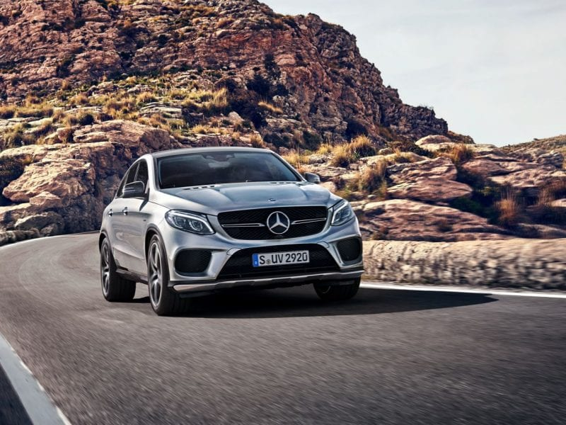 Mercedes-Benz GLE Coupé GLE Coupé 350d / AMG / Nightpakket / Panoramadak bij Van Mossel Voorraad