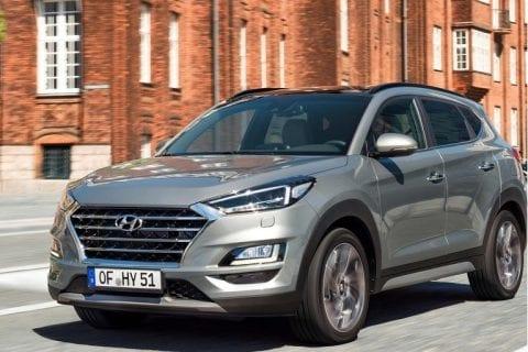 Hyundai Tucson bij Van Mossel Voorraad