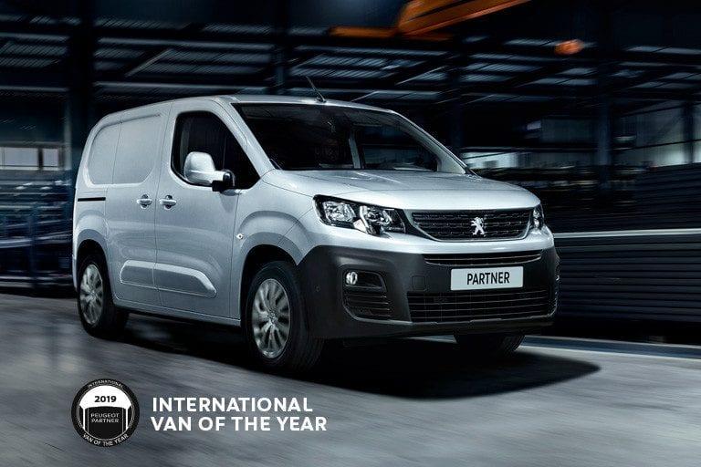 Peugeot Partner Premium BlueHDi 100 650kg