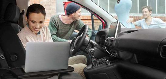Citroën Berlingo Berlingo Blue HDI 75 pk Control bij Van Mossel Voorraad