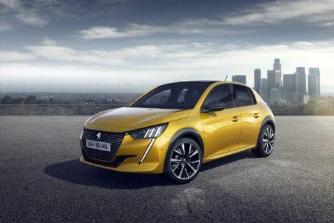 Peugeot Nieuwe  208 bij Van Mossel Voorraad