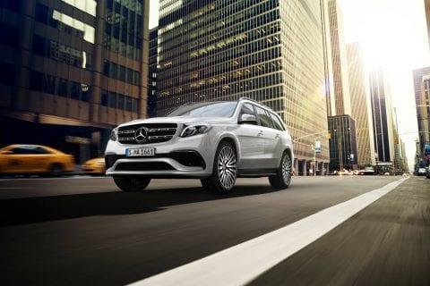 Mercedes-Benz GLS bij Van Mossel Voorraad