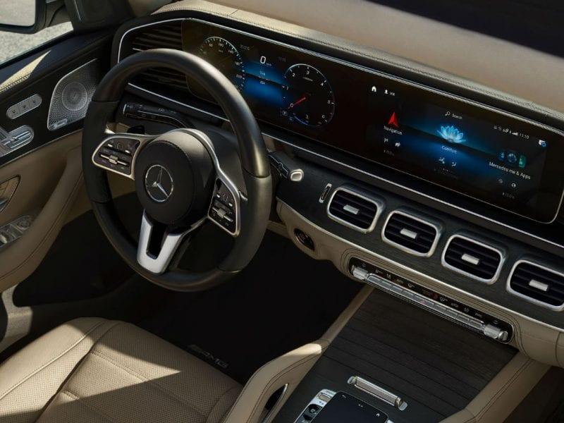 Mercedes-Benz GLS GLS 400d 4MATIC AMG Line bij Van Mossel Voorraad