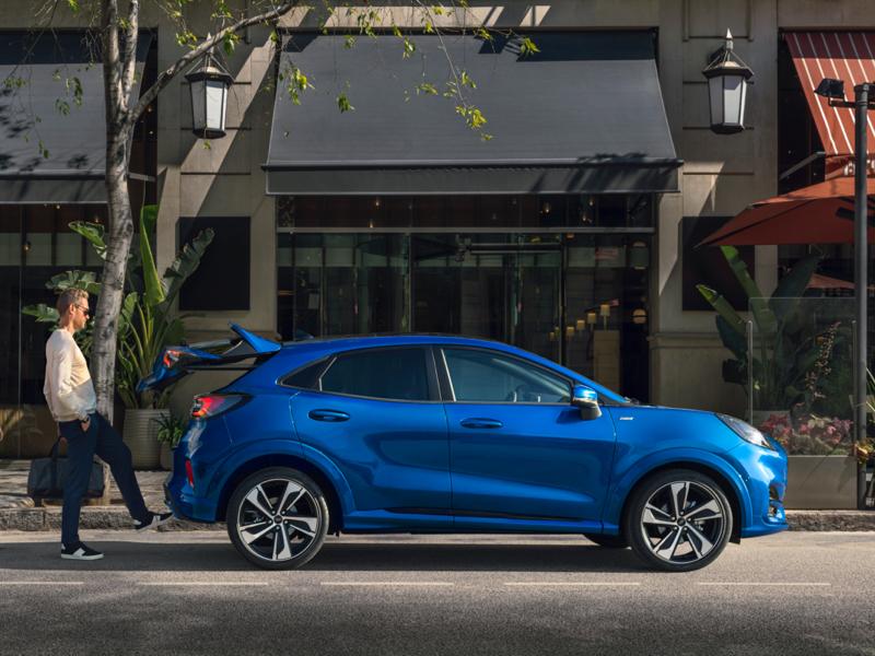Ford Puma Connected 1.0 EcoBoost 95pk bij Van Mossel Voorraad
