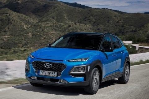 Hyundai KONA Hybrid bij Van Mossel Voorraad